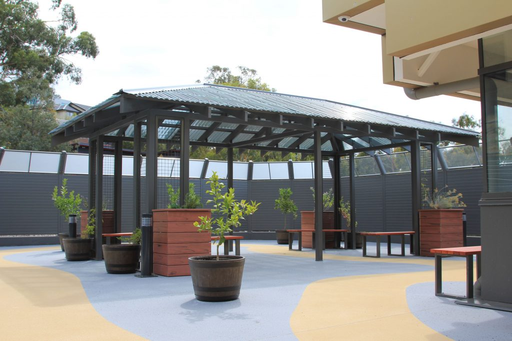 FWR courtyard